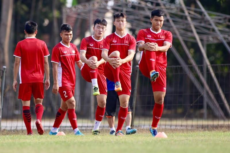 Olympic Việt Nam bí mật luyện penalty 'đấu' Nhật Bản - ảnh 22