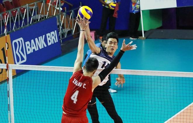 Bóng chuyền nam Việt Nam bất ngờ thắng Trung Quốc tại ASIAD 18 - ảnh 1
