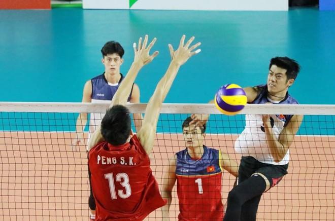 Bóng chuyền nam Việt Nam bất ngờ thắng Trung Quốc tại ASIAD 18 - ảnh 2