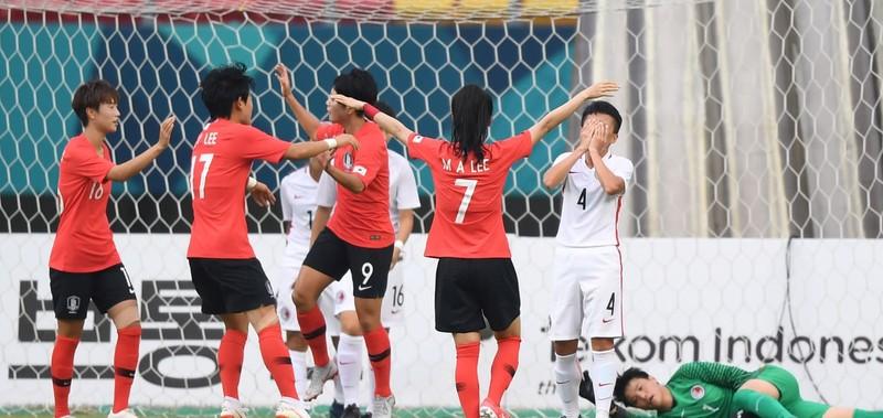 Thua đau Đài Loan, Việt Nam dừng bước ở tứ kết Asiad 18 - ảnh 5