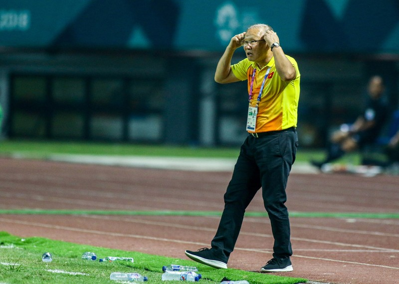 HLV Park Hang-seo cám ơn cầu thủ Olympic Việt Nam - ảnh 4