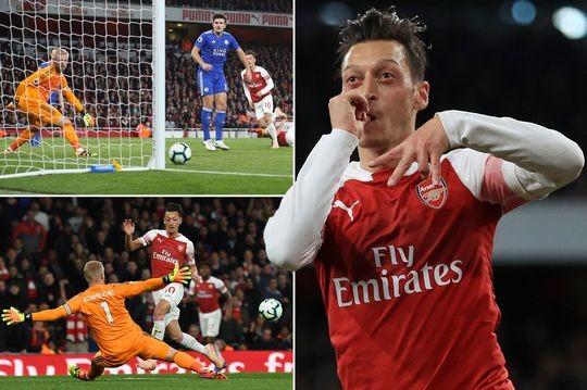 Arsenal thắng 7 trận liền nhờ phong độ chói sáng của Ozil - ảnh 5