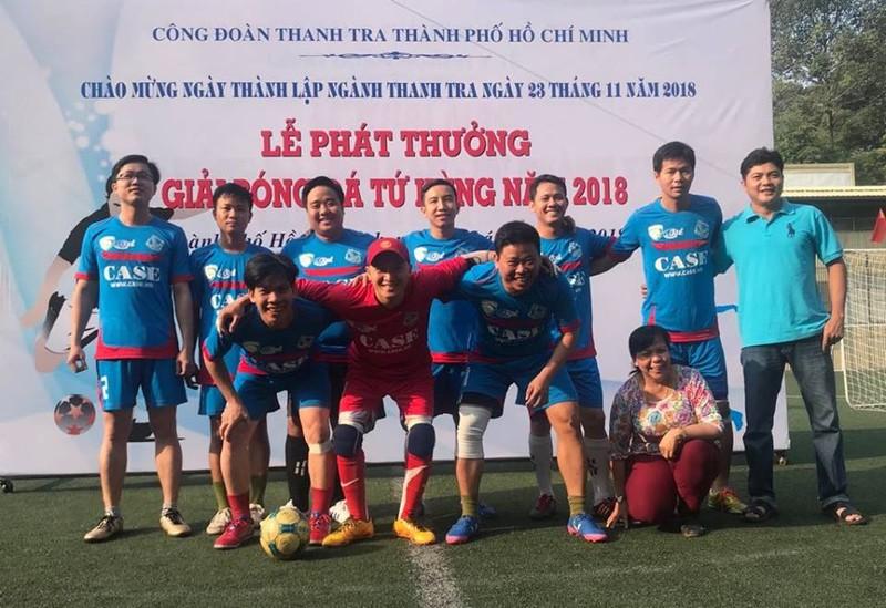 Sôi động giải bóng đá mừng ngày thành lập ngành thanh tra - ảnh 3