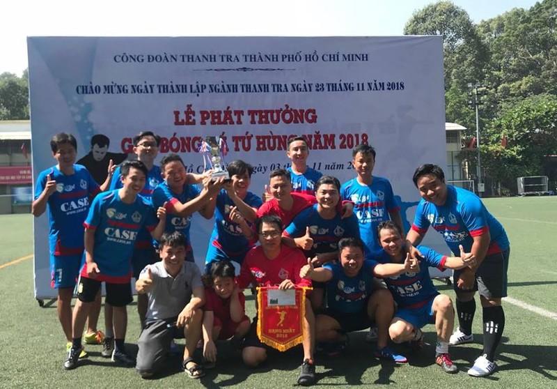 Sôi động giải bóng đá mừng ngày thành lập ngành thanh tra - ảnh 11