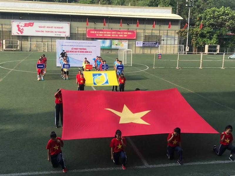 Sôi động giải bóng đá mừng ngày thành lập ngành thanh tra - ảnh 1
