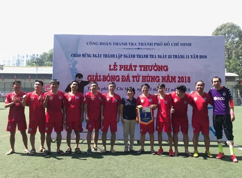Sôi động giải bóng đá mừng ngày thành lập ngành thanh tra - ảnh 10