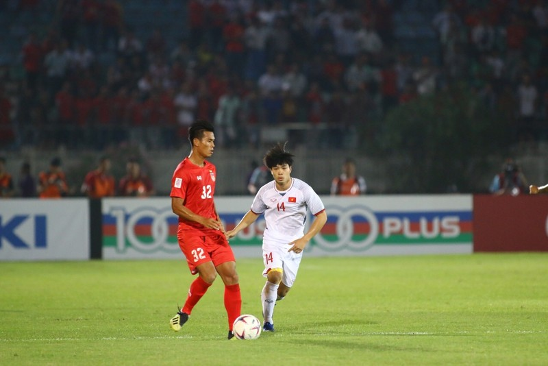 Bất lực tìm bàn thắng, Việt Nam chia điểm Myanmar - ảnh 13