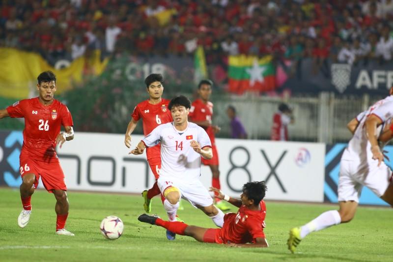 Bất lực tìm bàn thắng, Việt Nam chia điểm Myanmar - ảnh 10