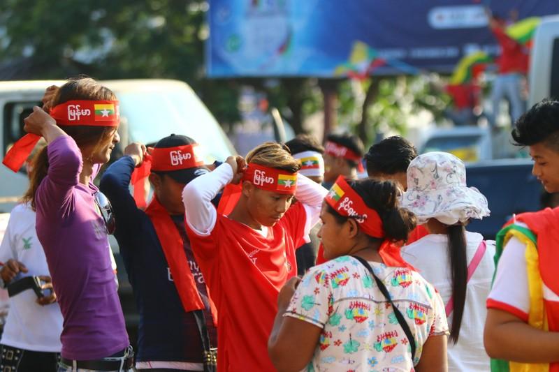 Bất lực tìm bàn thắng, Việt Nam chia điểm Myanmar - ảnh 31