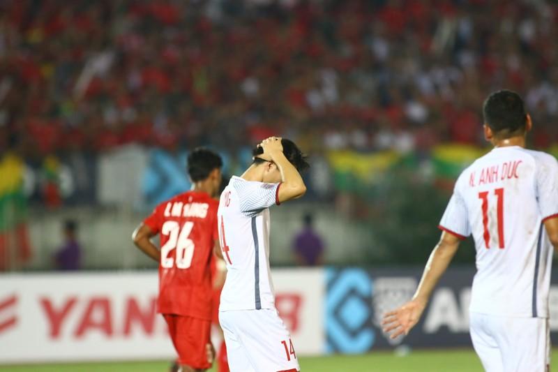 Bất lực tìm bàn thắng, Việt Nam chia điểm Myanmar - ảnh 4