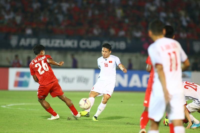 Bất lực tìm bàn thắng, Việt Nam chia điểm Myanmar - ảnh 2