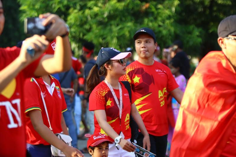 Bất lực tìm bàn thắng, Việt Nam chia điểm Myanmar - ảnh 38