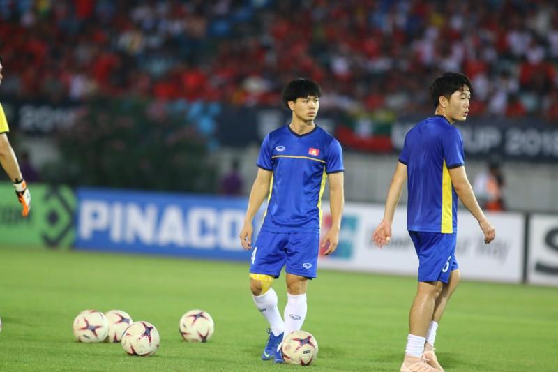Bất lực tìm bàn thắng, Việt Nam chia điểm Myanmar - ảnh 27