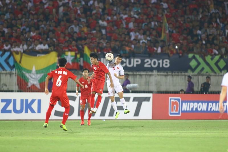 Bất lực tìm bàn thắng, Việt Nam chia điểm Myanmar - ảnh 7