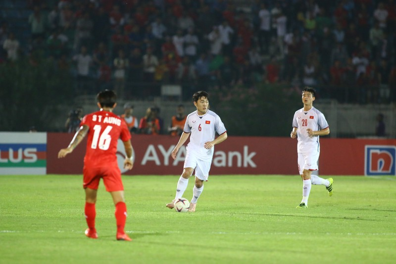 Bất lực tìm bàn thắng, Việt Nam chia điểm Myanmar - ảnh 11