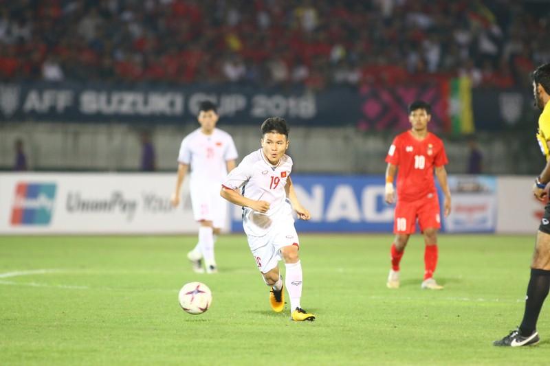 Bất lực tìm bàn thắng, Việt Nam chia điểm Myanmar - ảnh 1