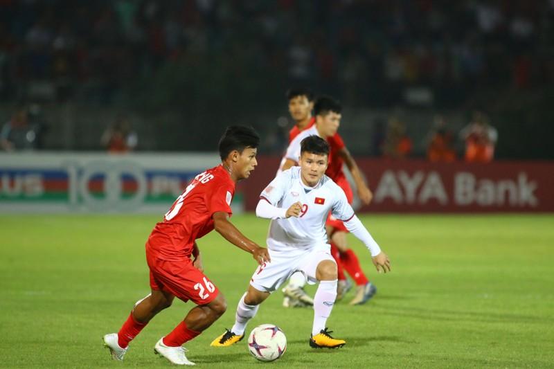Bất lực tìm bàn thắng, Việt Nam chia điểm Myanmar - ảnh 6