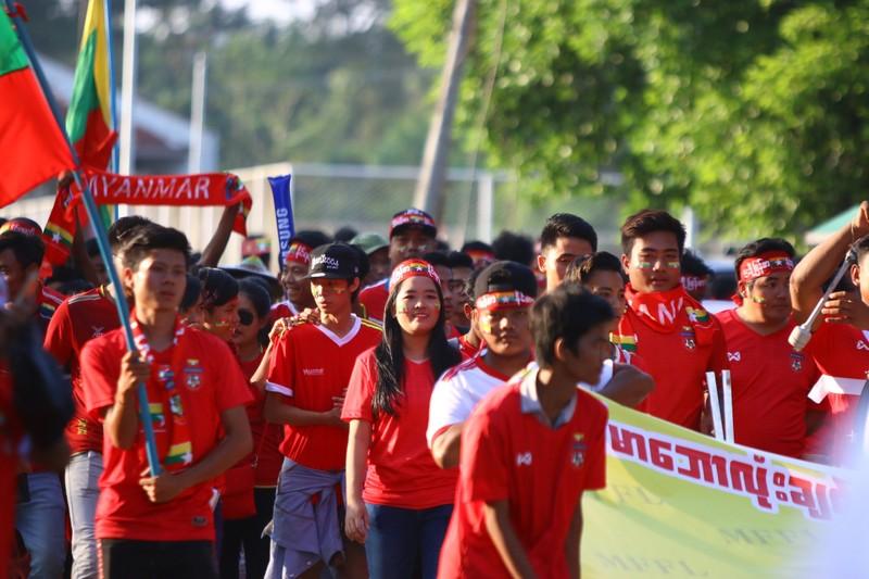 Bất lực tìm bàn thắng, Việt Nam chia điểm Myanmar - ảnh 36