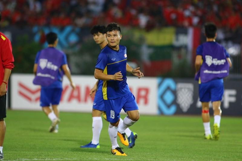 Bất lực tìm bàn thắng, Việt Nam chia điểm Myanmar - ảnh 24