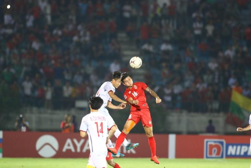 Bất lực tìm bàn thắng, Việt Nam chia điểm Myanmar - ảnh 12