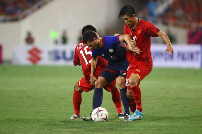 Philippines kiên cường, Việt Nam vất vả vào chung kết AFF Cup - ảnh 16