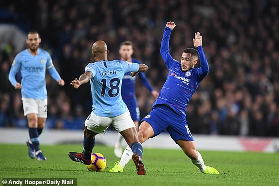 Thua trận đầu tiên trước Chelsea, Man. City mất luôn ngôi đầu - ảnh 1