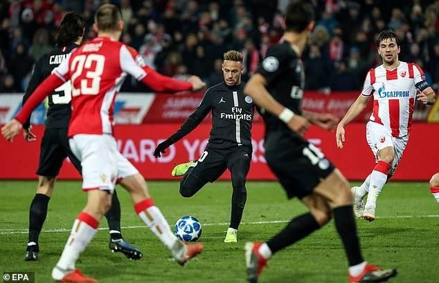 PSG thắng hủy diệt, Liverpool vượt mặt Napoli giờ chót - ảnh 1