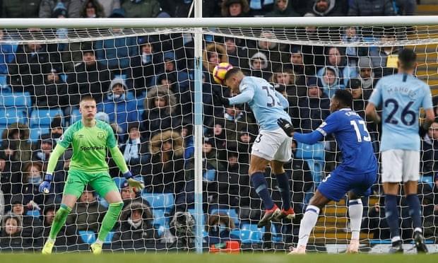 Thắng thuyết phục Everton, Man. City tái chiếm ngôi đầu bảng - ảnh 3