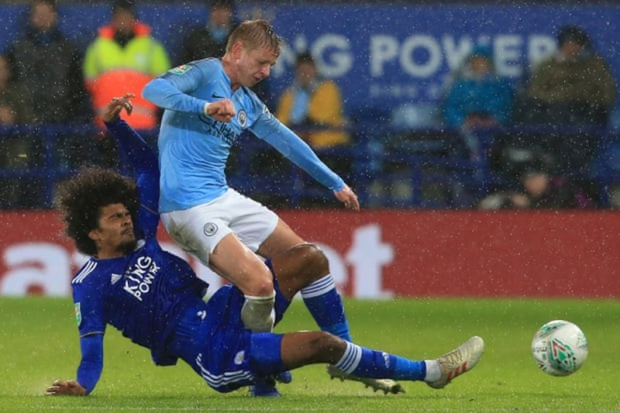 Hạ Leicester City trên loạt 'đấu súng', Man. City vào bán kết  - ảnh 2
