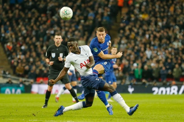 Tottenham thắng kịch tính Chelsea ở bán kết League Cup - ảnh 1