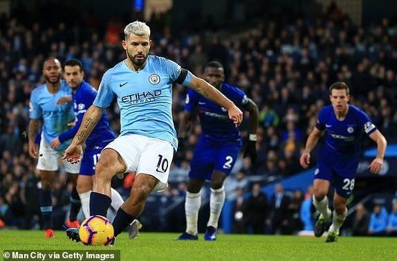 Aguero lập hat-trick, Man City 'chơi tennis hủy diệt' Chelsea - ảnh 5