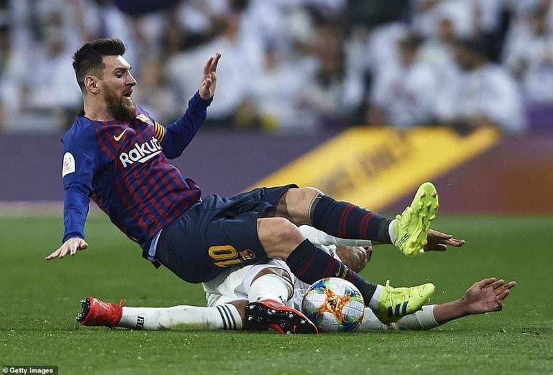 Thua đậm ngay sân nhà,Real Madrid nhìn Barcelona vào chung kết - ảnh 1
