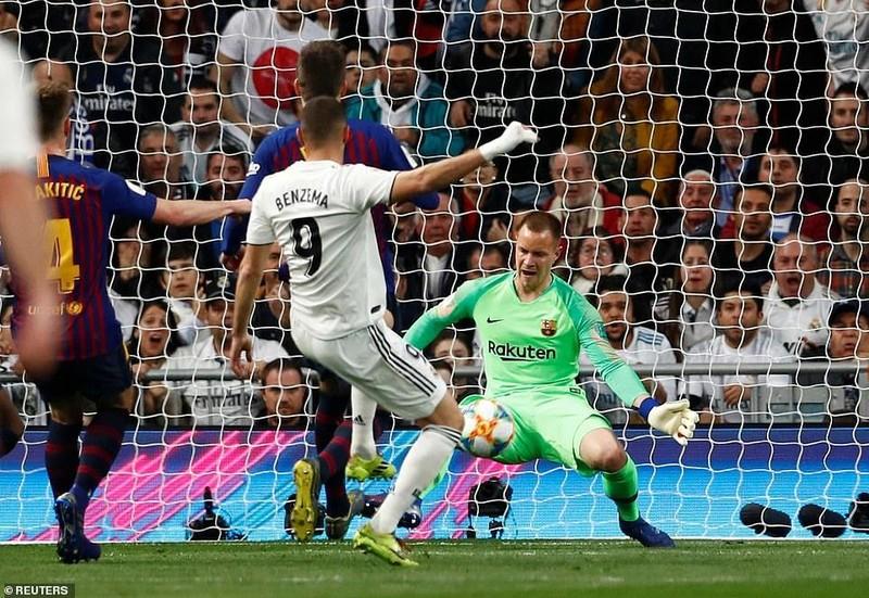 Thua đậm ngay sân nhà,Real Madrid nhìn Barcelona vào chung kết - ảnh 2
