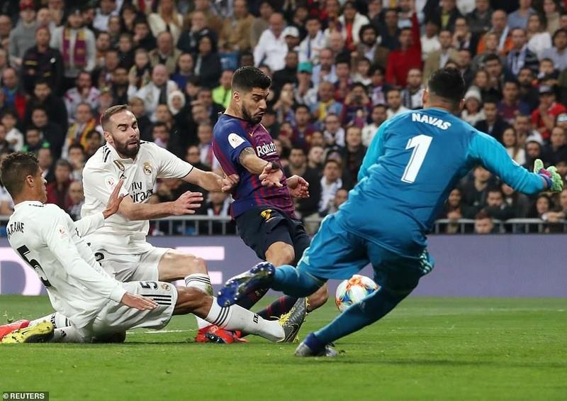 Thua đậm ngay sân nhà,Real Madrid nhìn Barcelona vào chung kết - ảnh 4