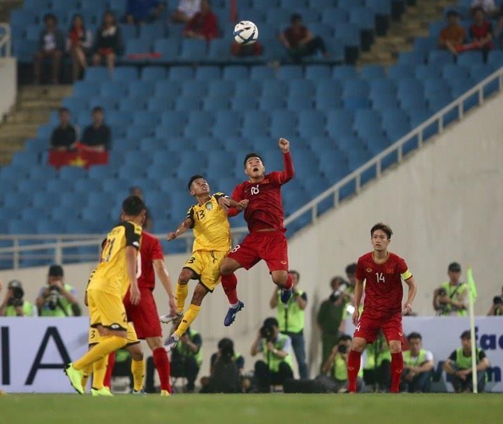 'Hủy diệt' U23 Brunei, U23 Việt Nam vượt Thái Lan lên ngôi đầu - ảnh 15