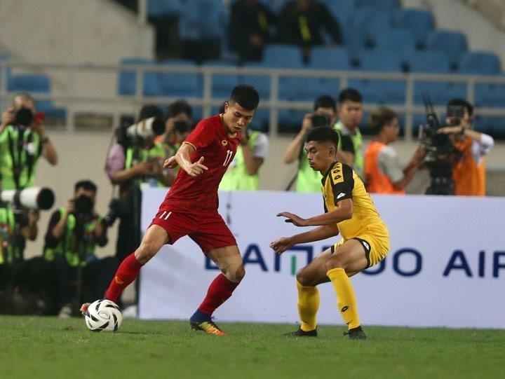 'Hủy diệt' U23 Brunei, U23 Việt Nam vượt Thái Lan lên ngôi đầu - ảnh 11