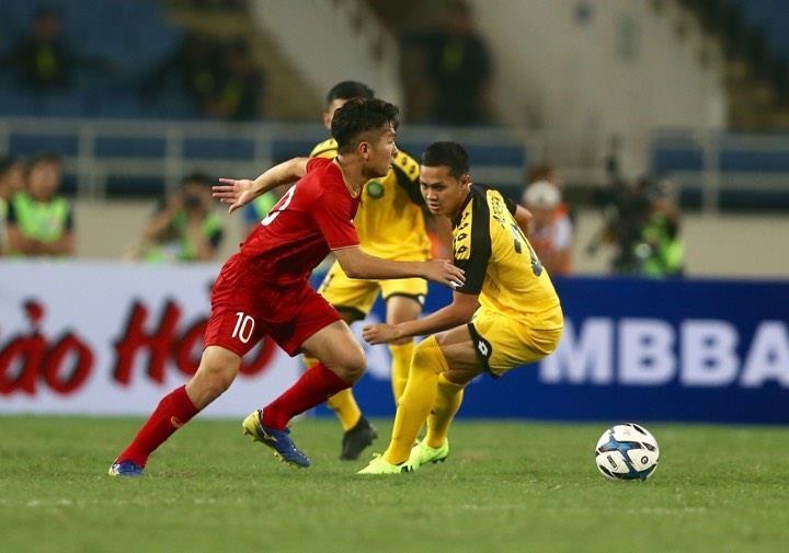 'Hủy diệt' U23 Brunei, U23 Việt Nam vượt Thái Lan lên ngôi đầu - ảnh 12