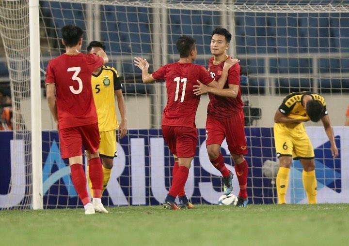 'Hủy diệt' U23 Brunei, U23 Việt Nam vượt Thái Lan lên ngôi đầu - ảnh 16