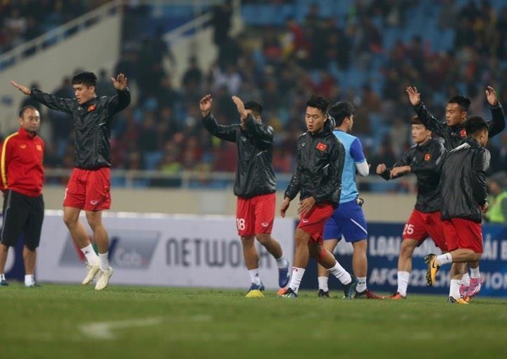 Người hùng Việt Hưng giúp U23 VN hạ U23 Indonesia phút bù giờ - ảnh 27