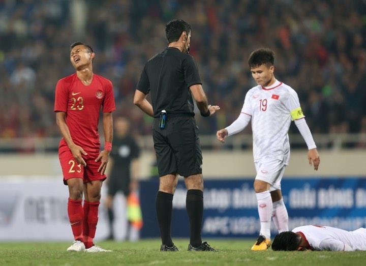 Người hùng Việt Hưng giúp U23 VN hạ U23 Indonesia phút bù giờ - ảnh 20