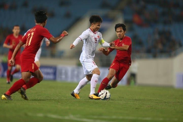 Người hùng Việt Hưng giúp U23 VN hạ U23 Indonesia phút bù giờ - ảnh 16
