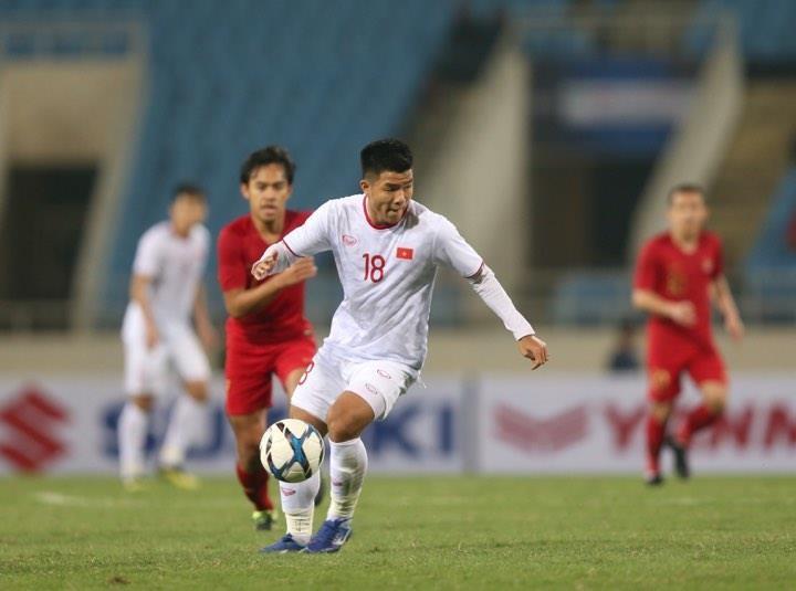 Người hùng Việt Hưng giúp U23 VN hạ U23 Indonesia phút bù giờ - ảnh 13