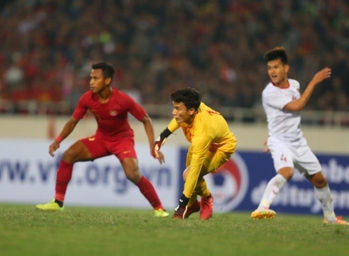 Người hùng Việt Hưng giúp U23 VN hạ U23 Indonesia phút bù giờ - ảnh 11