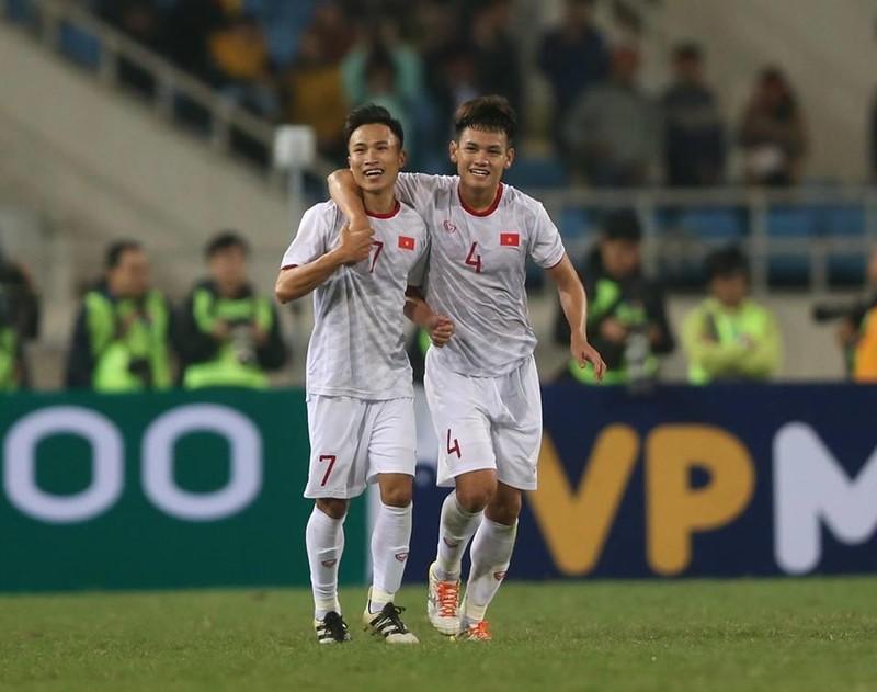 Người hùng Việt Hưng giúp U23 VN hạ U23 Indonesia phút bù giờ - ảnh 4