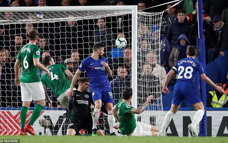 Đánh bại Brighton trên sân nhà, Chelsea vượt mặt MU - ảnh 2