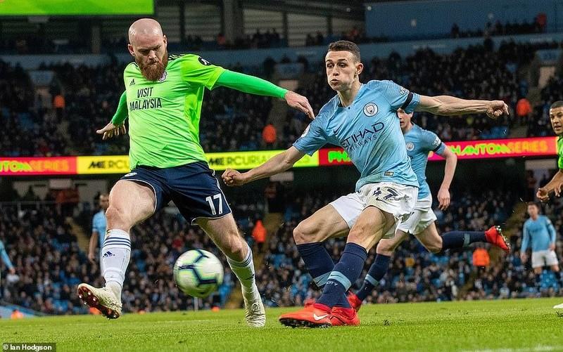 Hạ Cardiff City, Man. City đòi lại ngôi đầu Premier League - ảnh 3
