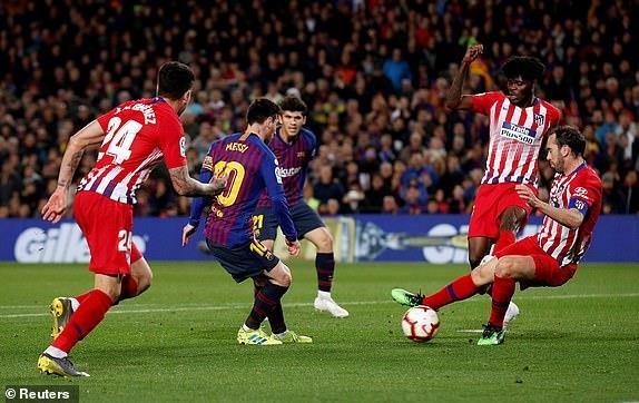 Siêu sao ăn hại, Atletico thua đau phút cuối trước Barcelona - ảnh 8