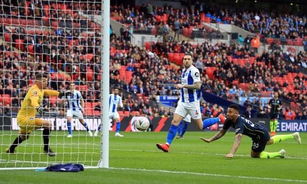 Jesus lập công sớm, Man. City vào chung kết FA Cup - ảnh 1