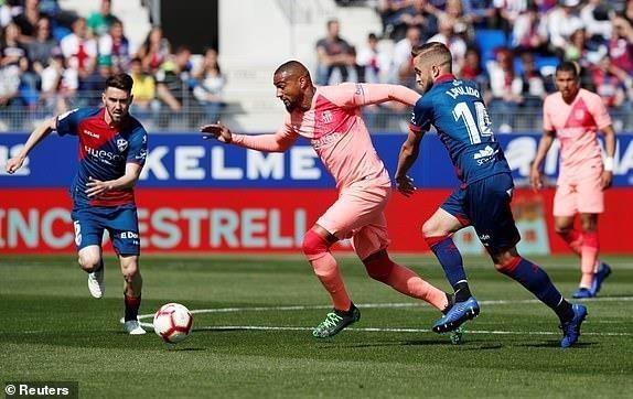 Dành sức cho MU, Barcelona bị đội chót bảng cầm chân - ảnh 1