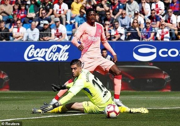 Dành sức cho MU, Barcelona bị đội chót bảng cầm chân - ảnh 2